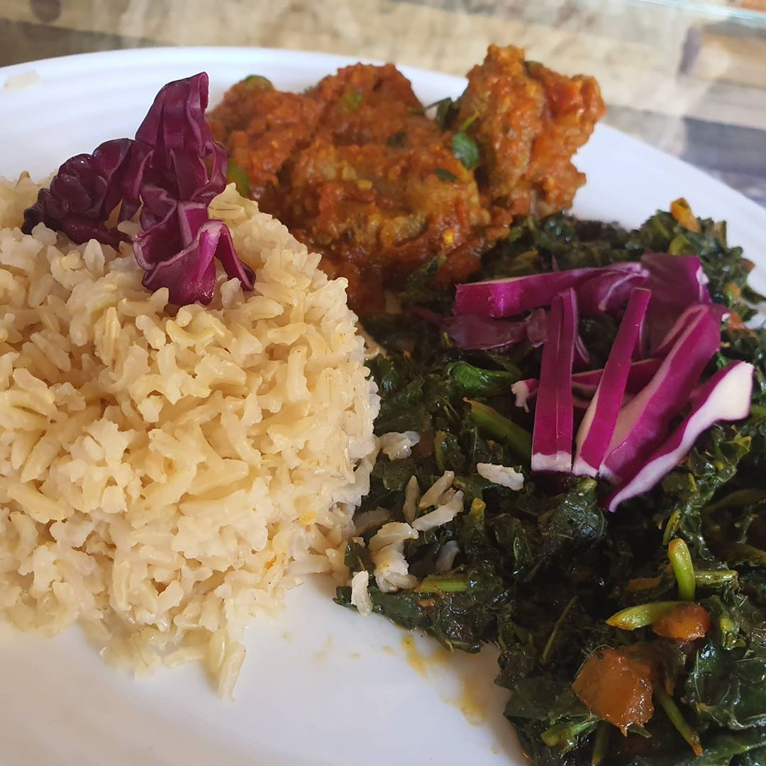 Let us take care of your diet..  Brown Rice,Veggie and mbuzi fry served @newislandishes @fort Jesus @ affordable price  #fortjesus #freeentry #breakfast #lunch #dinner #seafood #seafoodplatter #swahilicuisine #mocktails #healthyfood #healthyliving #freshseafood #dietplan #7am-10pm