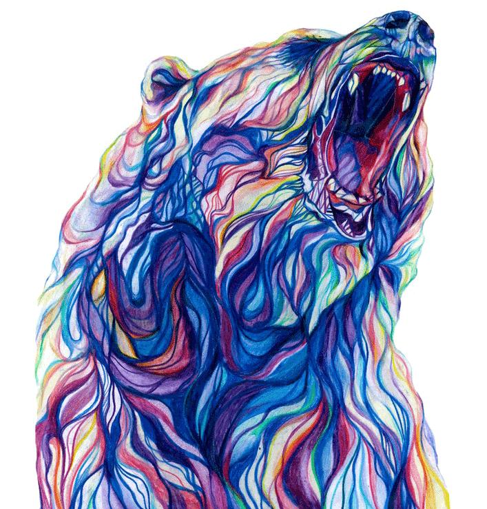 Cool Art Part 2 - addictedtoeverything.com | Art Bears | Pinterest ...