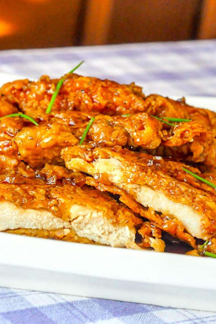 MUST TRY Double Crunch Honey Garlic Chicken Breasts images