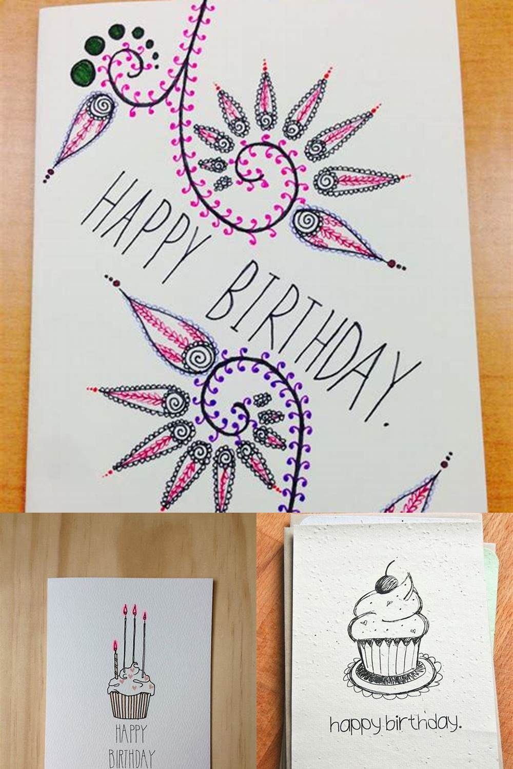 10+ Cute DIY Birthday Card Ideas Handmade birthday cards
