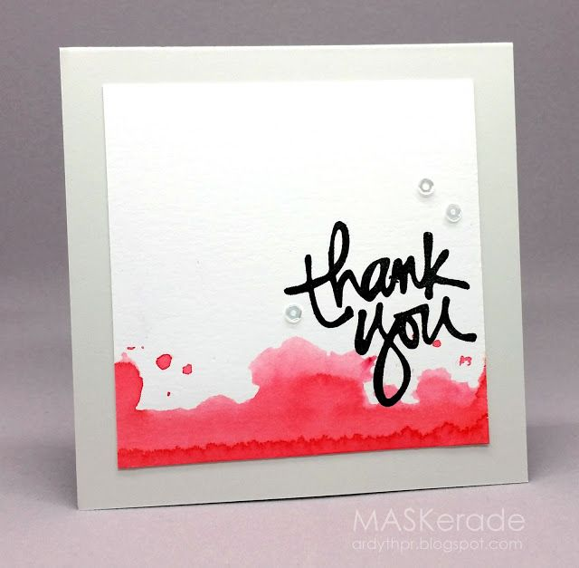 Simon Wednesday Challenge - Thank You by Ardyth - Cards and Paper Crafts at Splitcoaststampers