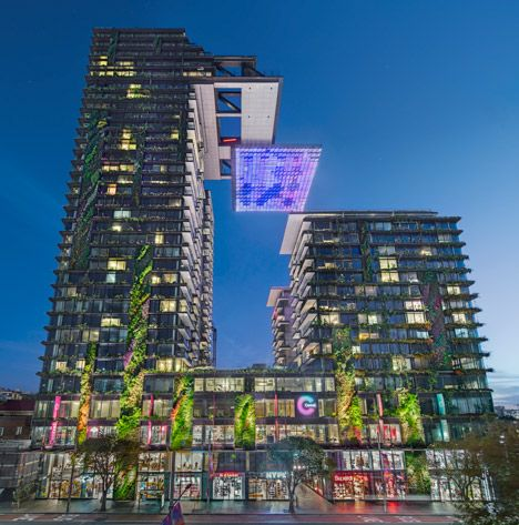 Jean Nouvel S Sydney Towers Boast Vertical Gardens And A Huge Sunlight Reflector Jean Nouvel Central Park Tower
