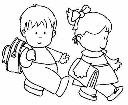 Niños Yendo A La Escuela 2gif3 Milagros Tarea De Mili Character