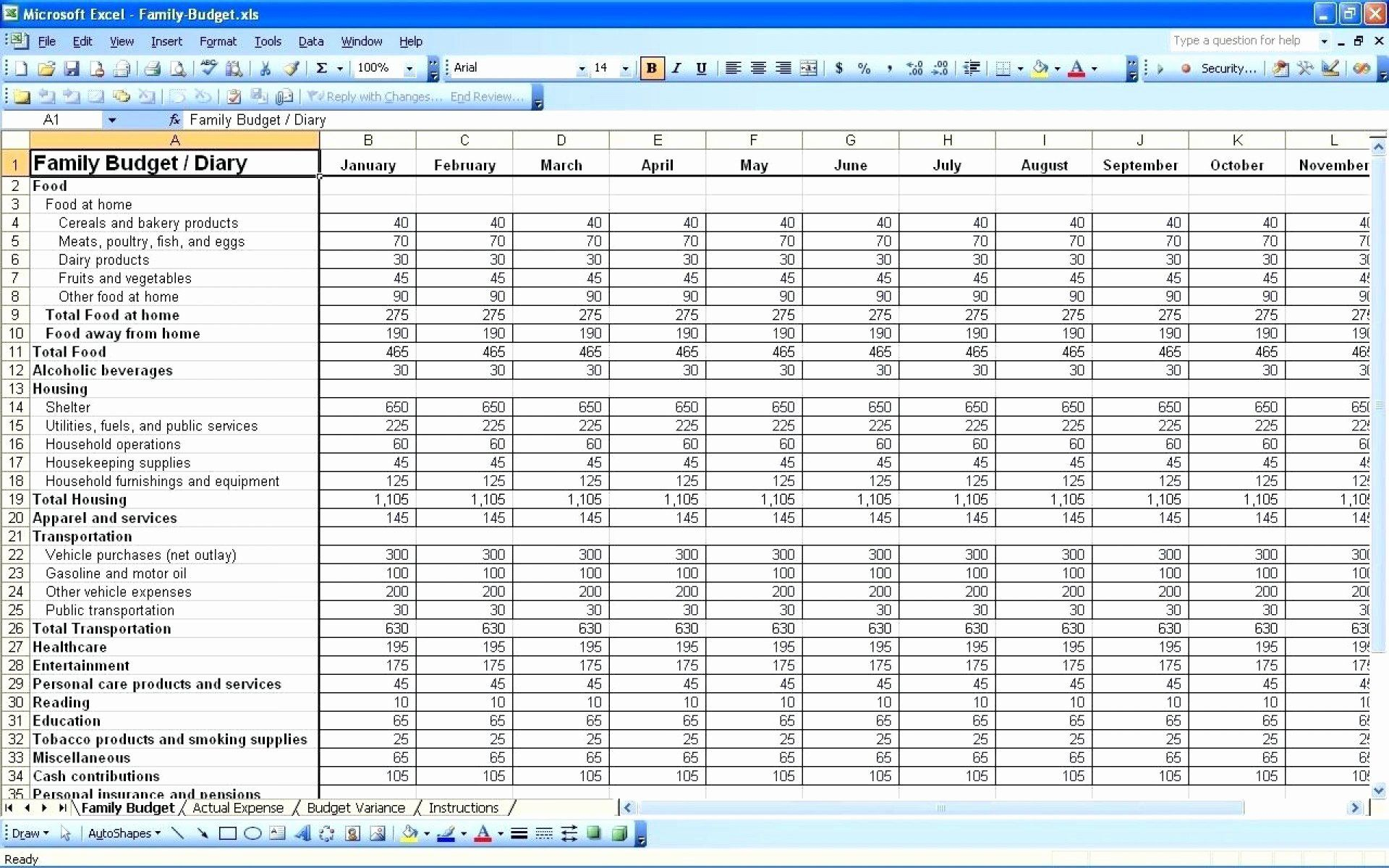 Free Daily Expense Tracker Excel Template Lovely 010 Bud