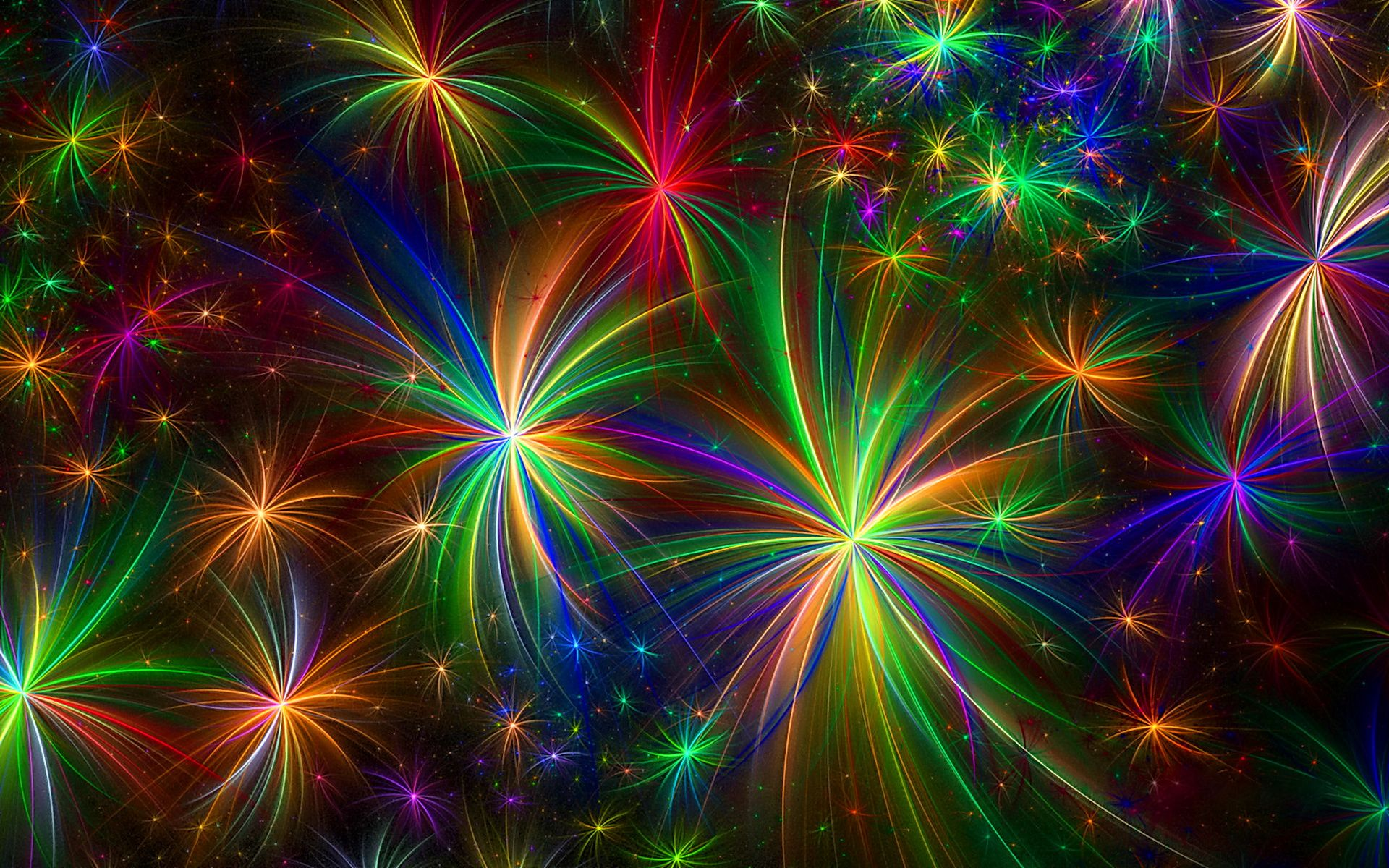 rainbow firework wallpaper hd resolution | fireworks | pinterest