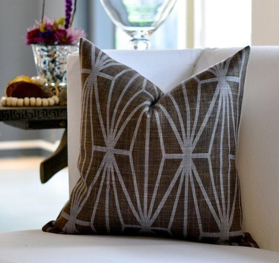 Kelly Wearstler Katana Pillow Cover By Woodyliana I Etsy Pillows Kelly Wearstler Pillow Covers
