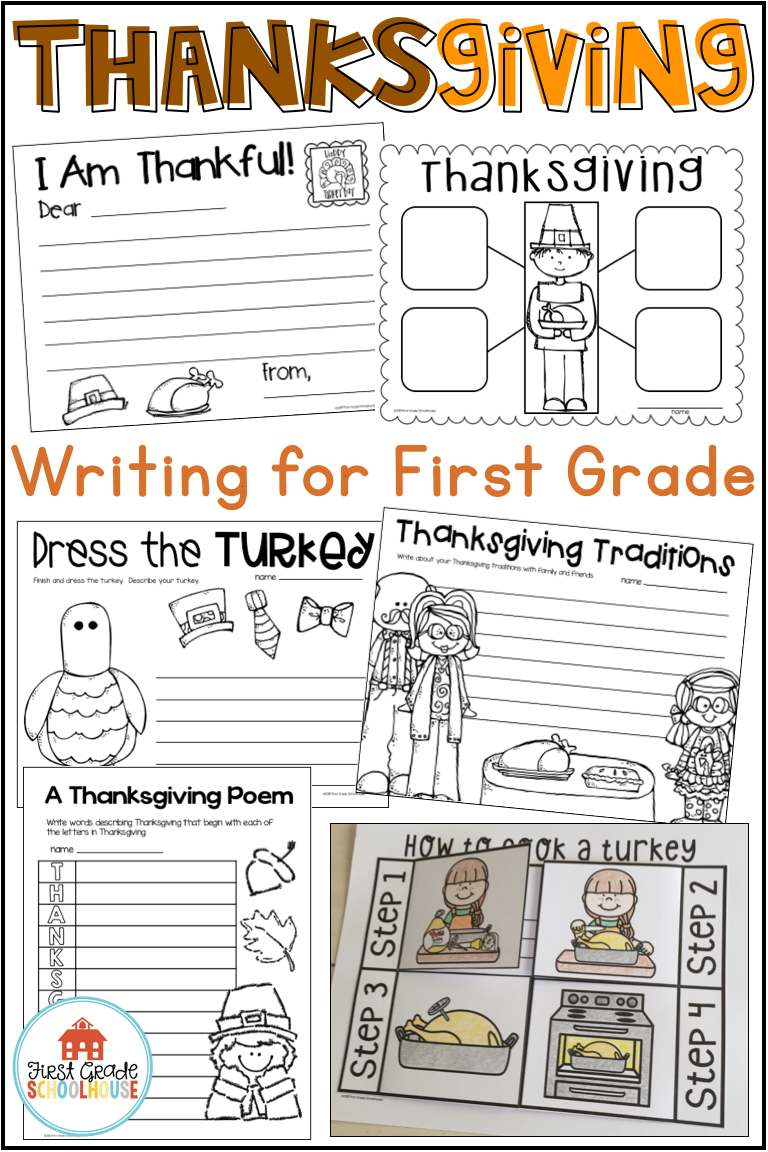 Thanksgiving Writing For First Grade Is Filled With Fun November Writing Activities With A Thanksgiving The Thanksgiving Writing Writing Activities First Grade [ 1152 x 768 Pixel ]