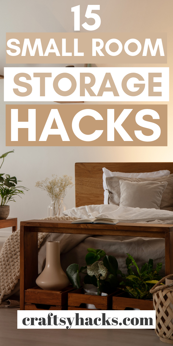 15 Small Room Storage Hacks images