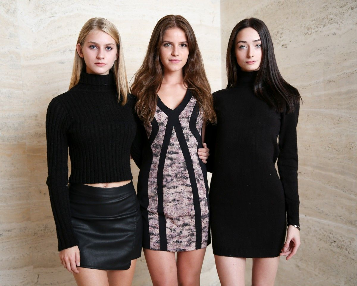 Syd wayne millicent cantrall and chloe kleppe max mara event ford modeling agency