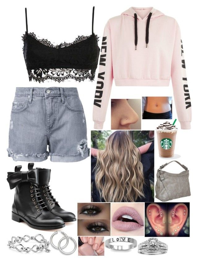 """Untitled #3250 - Outfit of the Day - 5/2/17"" by nicolerunnels ❤ liked on Polyvore featuring Nobody Denim, RED Valentino, David Yurman, Fantasy Jewelry Box, A.Jaffe and J.A.K."