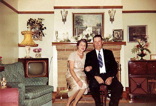 50s living room: Vintage decor at its finest | 8 Oct 1959 - … | Flickr