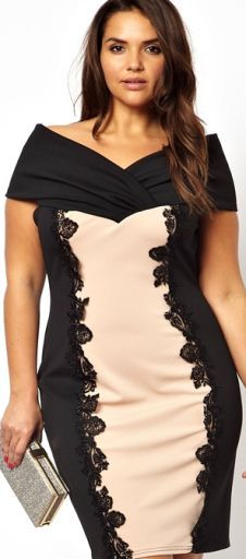 d1e1d265bb32ece Нарядные платья для полных девушек и женщин - фото | шикарный размер ...