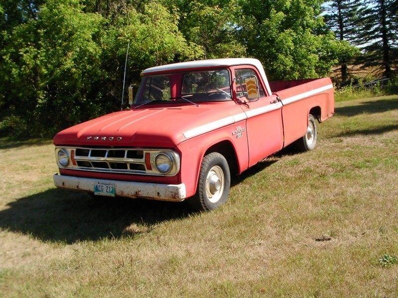 1968 Fargo Pickup Truck Classic Cars Winnipeg Kijiji