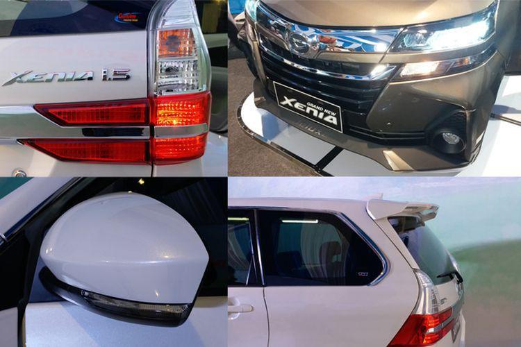 Detail Eksterior Mewah Daihatsu Grand New Xenia 2019 Daihatsu Toyota Mobil