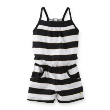 0add3577039b Carter's® Striped Knit Romper – Girls 2t-4t found at @JCPenney Toddler Girl