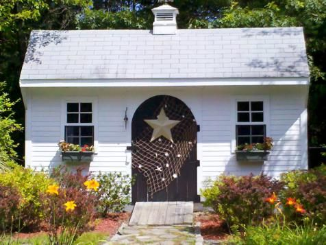 Garden Sheds: They've Never Looked So Good   Landscaping Ideas and Hardscape Design   HGTV