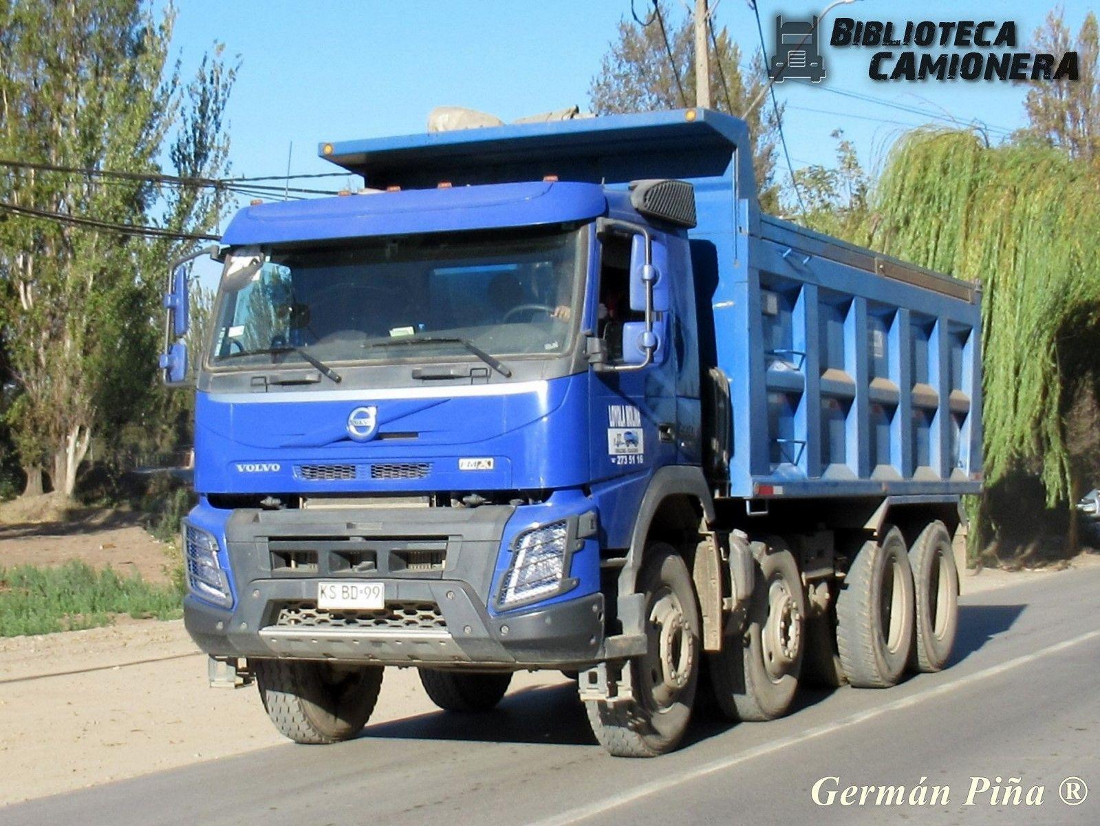 Volvo Fmx 500 Transportes Loyola Molina En 2020 Volvo Camiones Transporte