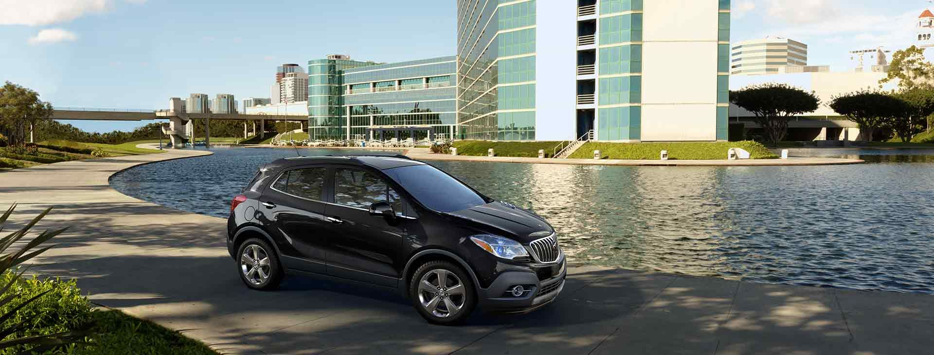 The 2016 Encore in Carbon Black Metallic** Luxury suv