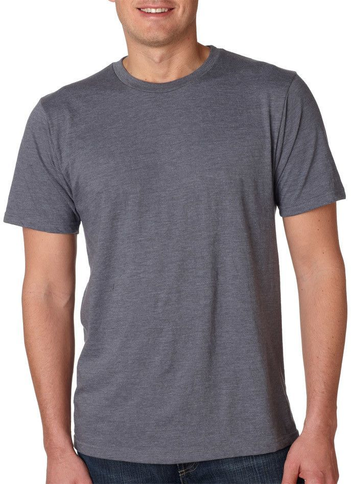 anvil eco-friendly adult anvilsustainable? tee - heather charcoal (s)