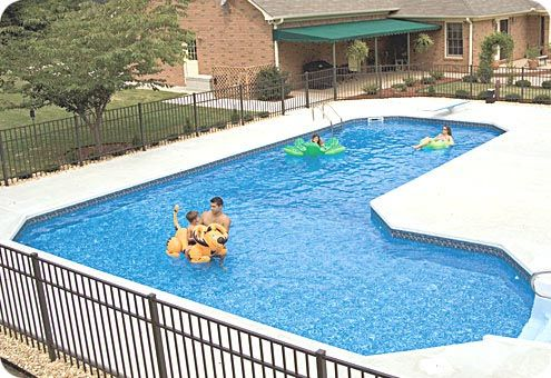 Pin By Annmarie Collins On Pool Ideas Pool Landscaping Inground Pool Landscaping Pool