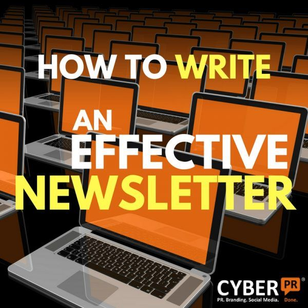 Cyber PR's Three G's – GREETING, GUTS & GETTING – How To Write An Effective Newsletter - a DIY musicians guide.