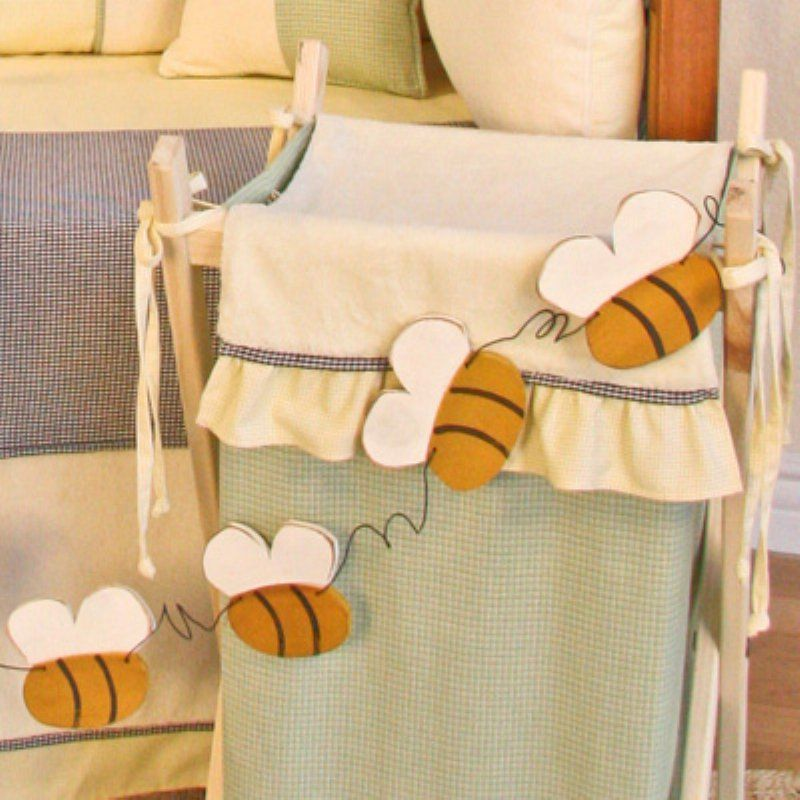 Brandee Danielle Bee My Baby Garland Wall Art - 15WHBEE | Products ...