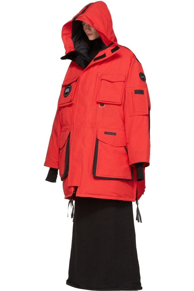 vetements canada goose collaboration