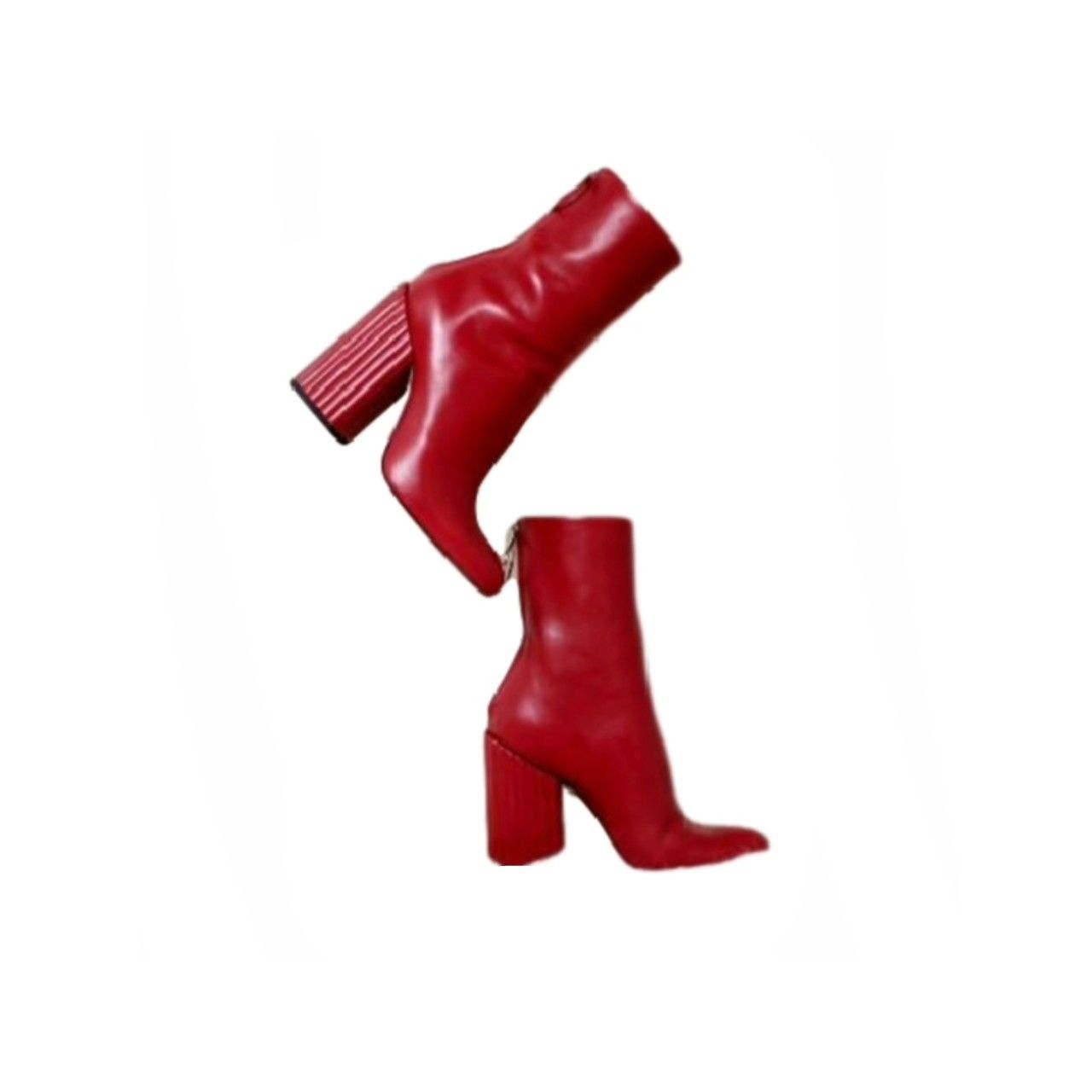 Red Boots Polyvore Moodboard Filler Red Boots Aesthetic Shoes Red Heels