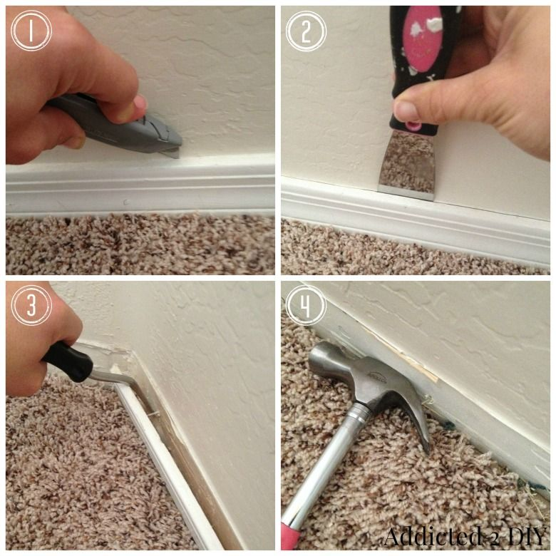 How to Replace Baseboards without Destroying Your Walls ...