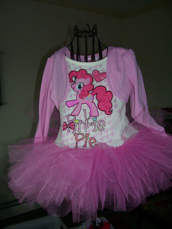 My Little Pony..PINKIE PIE Tutu Dress size .24 months.ready to ship ...