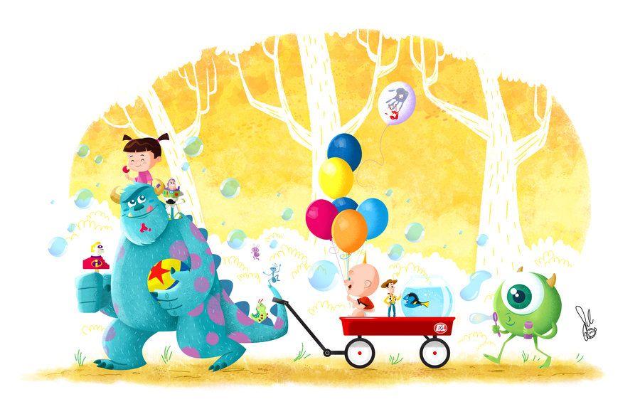 Pixar Tribute by tanoshiboy
