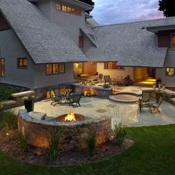 Backyard Fire Pit Design, Pictures, Remodel, Decor and Ideas - page 2