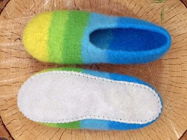 Photo of Make leather soles for felt shoes // easy