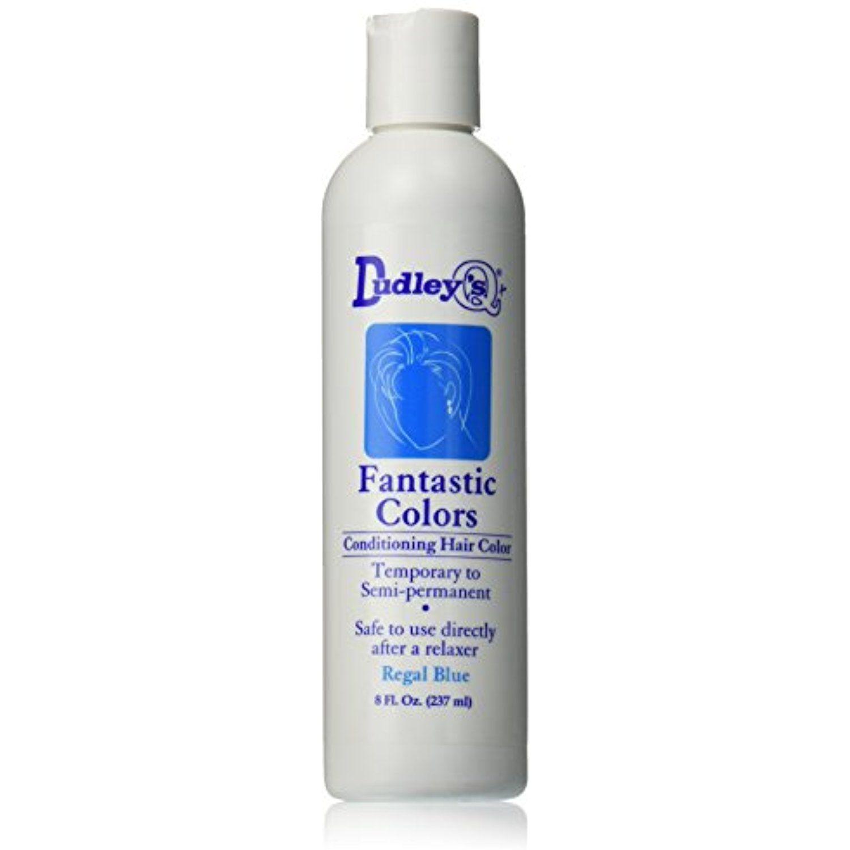 Dudleys Fantastic Colors Conditioning Hair Color Regal Blue 8