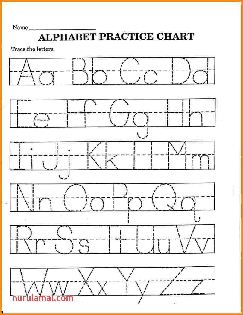Handwriting Tracing Preschool Works Printable Alphabet Worksheets Alphabet Worksheets Free Abc Worksheets [ 1051 x 812 Pixel ]