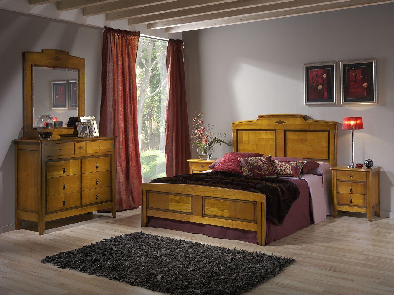 Dormitorio clasico de matrimonio coleccion daniela en for Dormitorio matrimonio madera