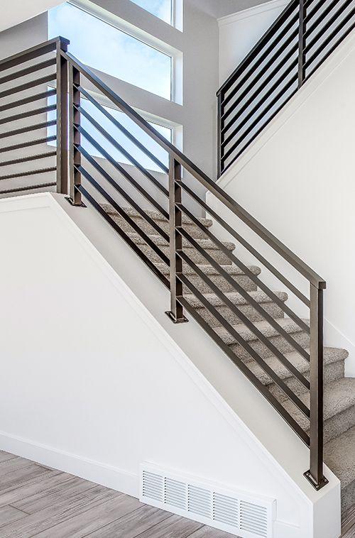 Wood Metal Handrail Google Search More Stair Railing Design