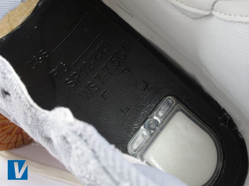 wholesale dealer aa8e3 6fca9 Inside Dunk Sky Hi s if you remove the insole you can see the Nike Zoom Air