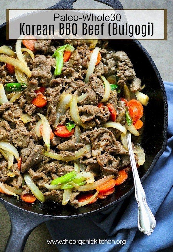 Paleo Korean BBQ Beef (Bulgogi)   Recipe   Paleo cookbook ...