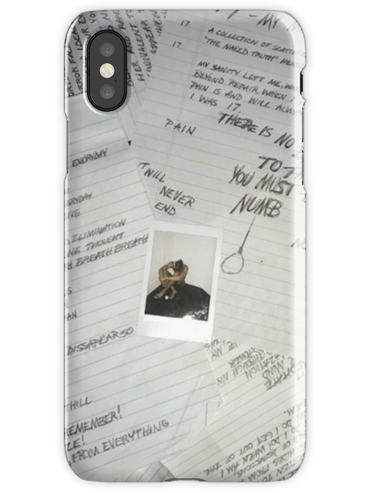 3f514ff843313 XXXTentacion - 17 iPhone X Snap Case