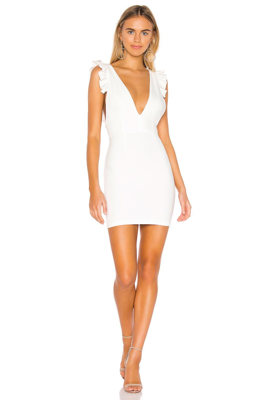Superdown Drea Mini Dress In White Revolve Mini Dress Dresses White Dress [ 1450 x 960 Pixel ]