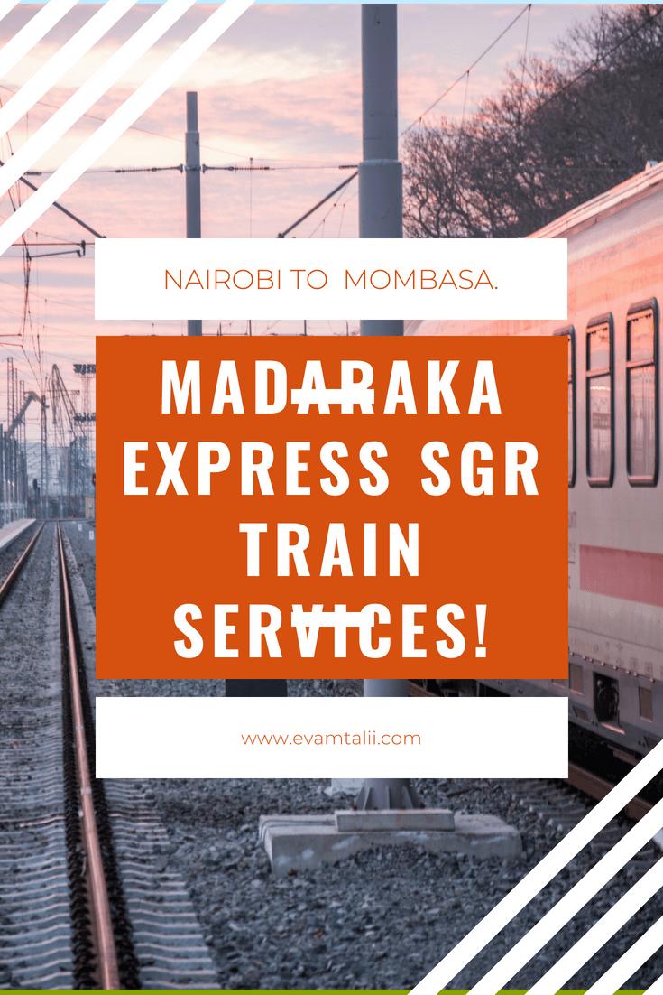 Madaraka Express SGR Train Tickets Booking 2019: Nairobi and