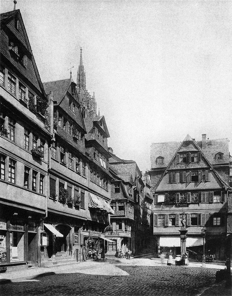 Frankfurt am Main — HeiligGeistPlätzchen in der Altstadt