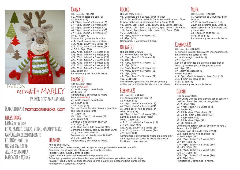 Crafteando, que es gerundio: Alfred, el elfo navideño de amigurumi | 724x1024