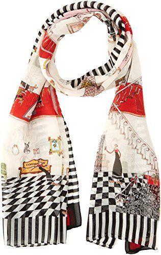 scarpe sportive 0dfd8 b89eb Moschino Cheap & Chic Pañuelo Seda (Multicolor) | Pañuelos para mi ...