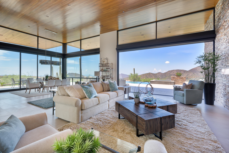 Arizona Living Room Designed By Jill Morse Of Our Scottsdale Gallery Design Ambassador 2018 Winning Ro Family Living Rooms Arizona Living Living Room Designs