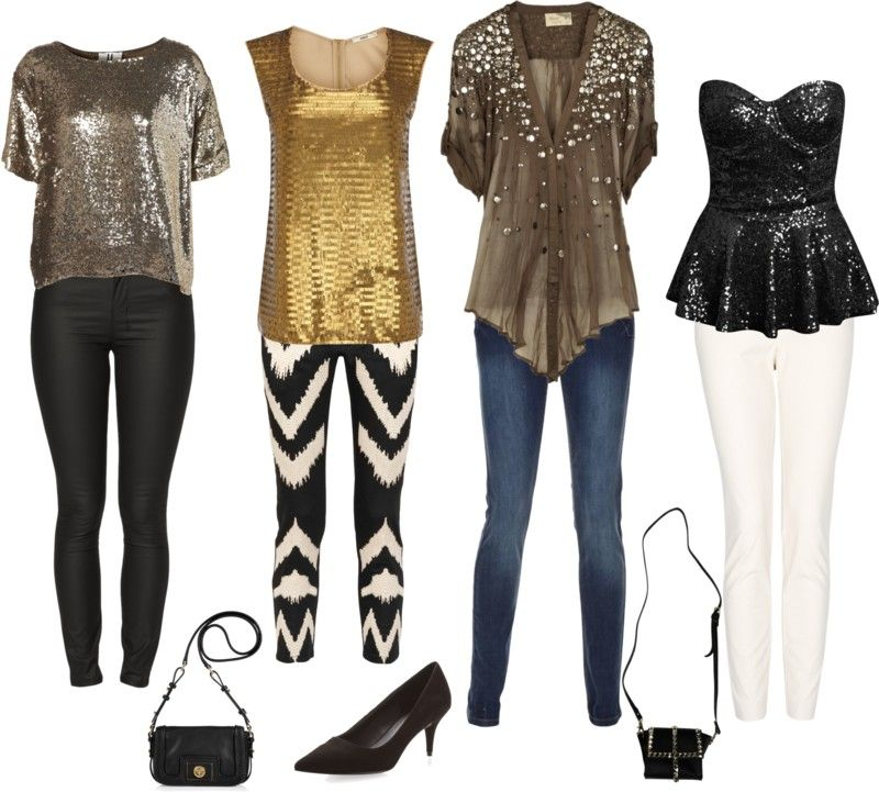 2012 NYE Outfits for Bar Hopping - 2012 NYE Outfits For Bar Hopping Blog Content // Polyvore Sets