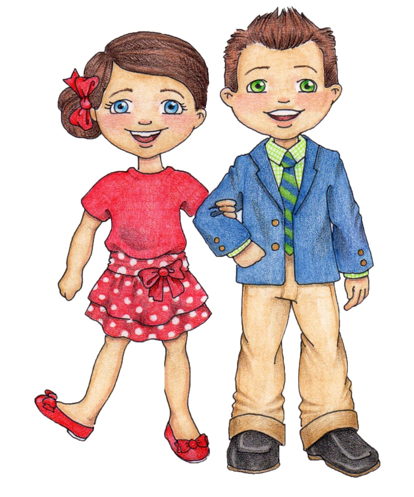 lds clip art susan fitch design primary boy girl primary clip rh pinterest com LDS Scriptures Clip Art Mormon Clip Art