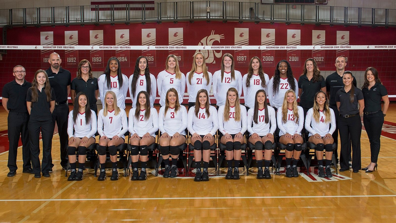 2016 Women S Volleyball Roster Wsucougars Com Washington State University Women Volleyball Volleyball News Volleyball