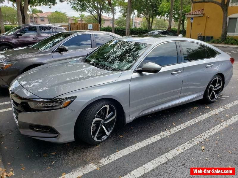 Car for Sale 2018 Honda Accord Sport (With images)